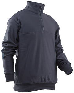 Tru-Spec Men's Grid Fleece Zip Thru Job Shirt - Extra Large (2XL - 3XL), , hi-res