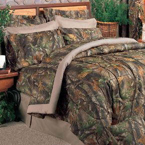 Realtree Hardwoods Camo King Comforter Set, Camouflage, hi-res