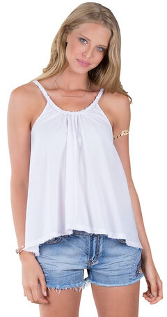Others Follow Women's Sunbather White Tank Top , , hi-res