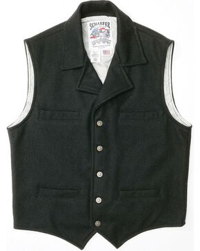 Schaefer Cattle Baron Wool Blend Vest, Black, hi-res