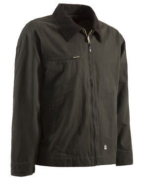 Berne Original Washed Gasoline Jacket - 5XL and 6XL, Olive Green, hi-res