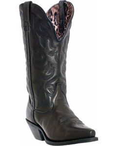 Laredo Access Deep Dip Cowgirl Boots - Snip Toe, , hi-res