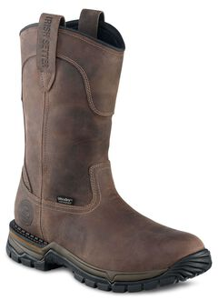 Red Wing Irish Setter Two Harbors Waterproof Pull-On Work Boots - Round Toe, , hi-res