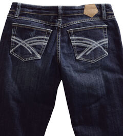 Tin Haul Rosie Deco Stitch Jeans - Boot Cut , , hi-res
