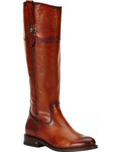 Frye Women's Redwood Jayden Tall Button Boots - Round Toe , Redwood, hi-res
