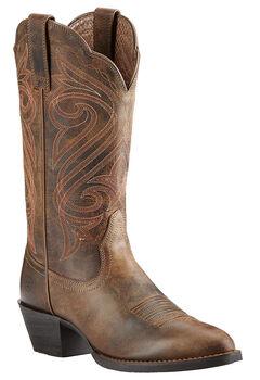Ariat Women's Round Up Cowgirl Boots - Medium Toe, , hi-res
