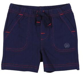 Wrangler Toddler Boys' Navy Drawstring Knit Shorts, Navy, hi-res