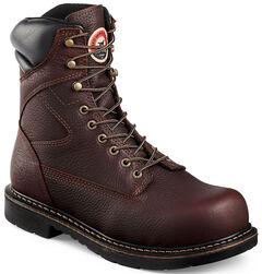Red Wing Irish Setter Farmington Lace-Up Work Boots- Steel Toe , , hi-res