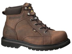 "Caterpillar 6"" Whiston Lace-Up Work Boots - Round Toe, , hi-res"