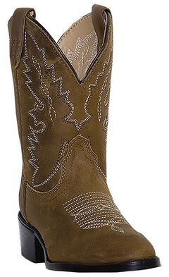 Dan Post Infant Boys' Shane Cowboy Boots - Round Toe, , hi-res