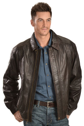 Scully Premium Lambskin Jacket - Big & Tall, Chocolate, hi-res