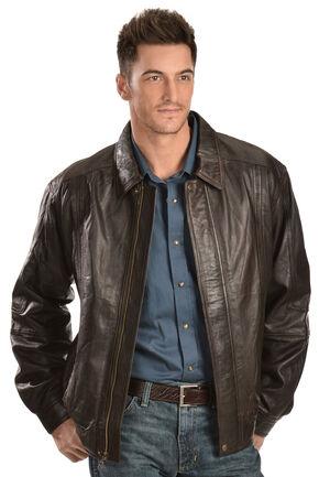 Scully Premium Lambskin Jacket - Big & Tall, Chocolate, hi-res