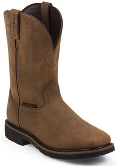 Justin Original Work Boots Men's Worker Boots - Square Toe , , hi-res