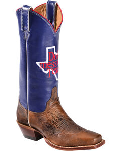 """Justin Boots """"Don't Mess with Texas"""" 13"""" Cowgirl Boots - Square Toe, , hi-res"""