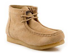 Roper Kids' Casual Moc Toe Chukka Boots, , hi-res