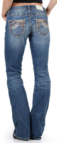 Shyanne Women's Slim Fit Boot Cut Jeans, , hi-res