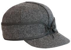 Stormy Kromer Men's Charcoal Original Cap, , hi-res