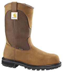Carhartt Waterproof Wellington Pull-On Work Boots - Steel Toe, , hi-res