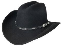 Silverado Cattleman Crushable Wool Cowboy Hat, , hi-res