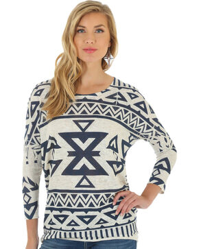 Wrangler Women's Multi Long Sleeve Sweater, Multi, hi-res