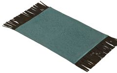 HiEnd Accents Turquoise Tooled Faux Leather Placemats, , hi-res