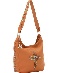 American West Women's Dream Catcher Zip-Top Handbag, , hi-res