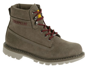 "Caterpillar Women's Watershed Waterproof 6"" Work Boots, Brown, hi-res"