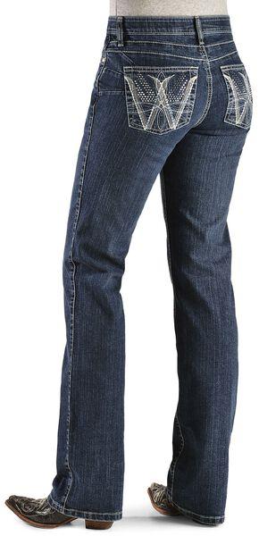 Wrangler Q-Baby Booty Up Embellished Jeans, , hi-res