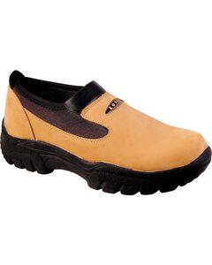 Roper Performance Slip-On Shoes - Round Toe, , hi-res