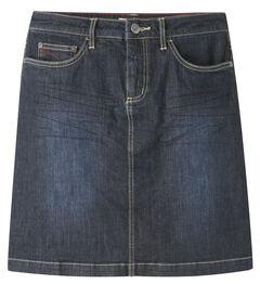 Mountain Khakis Women's Dark Wash Genevieve Denim Skirt, , hi-res