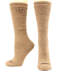Ariat Men's Merino Hunting Socks - Two Pack, , hi-res