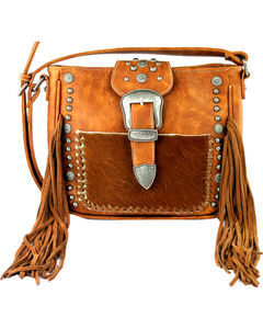 Montana West Trinity Ranch Belt Buckle Crossbody Handbag, , hi-res