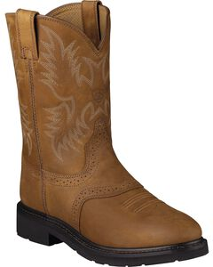 Ariat Sierra Saddle Western Work Boots, , hi-res