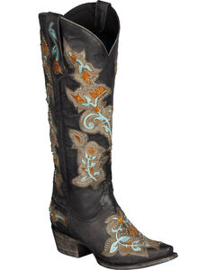 Lane Bliss Cowgirl Boots - Snip Toe, , hi-res