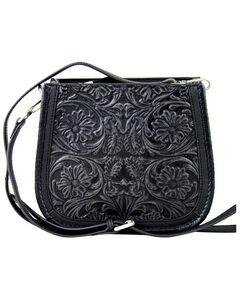 Montana West Black Delila 100% Genuine Leather , , hi-res
