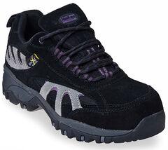 McRae Women's Poron XRD Met Guard Black Hiker Boots - Composite Toe, , hi-res
