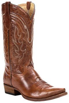 Circle G Men's Whip Stitch Cowboy Boots -  Snip Toe, , hi-res