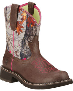 Ariat Fatbaby Heritage Vivid Cowgirl Boots - Round Toe, , hi-res