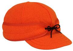 Stormy Kromer Men's Blaze Orange Original Cap, , hi-res