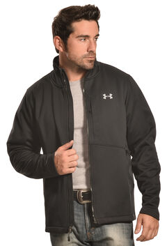 Under Armour Men's GoldGear Infrared Softershell Jacket, Black, hi-res
