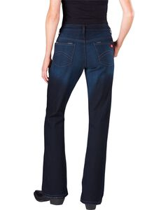 Dickies Women's Slim Fit Bootcut Jeans, , hi-res