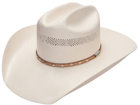 Stetson 10X Barrow Straw Cowboy Hat, Natural, hi-res
