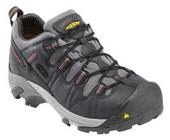 Keen Men's Detroit Low Shoes - Steel Toe, , hi-res