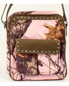 Blazin Roxx Camo Concealed Carry Crossbody Bag, Pink, hi-res