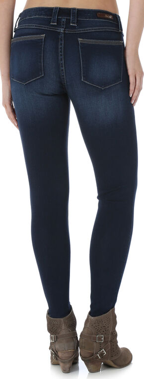 Wrangler Rock 47 Women's Stretch Skinny Jeans, Denim, hi-res