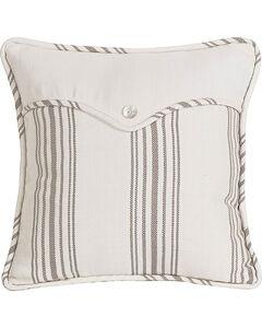 HiEnd Accents Multi Gramercy Square Linen Weave Envelope Pillow, , hi-res