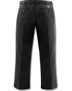 Carhartt Blended Twill Chino Work Pants, Black, hi-res