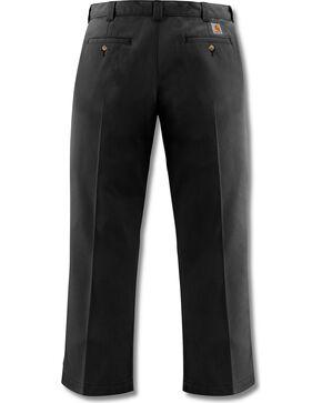 Carhartt Blended Twill Chino Work Pants - Big & Tall, Black, hi-res