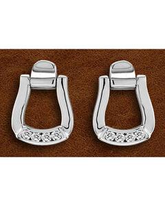 Kelly Herd Sterling Silver Oxbow Earrings, Silver, hi-res