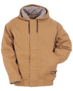 Berne Brown Duck Flame Resistant Hooded Jacket, , hi-res